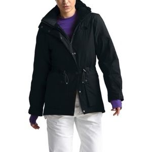 NWT North Face Reign On 550 Hooded Black Parka